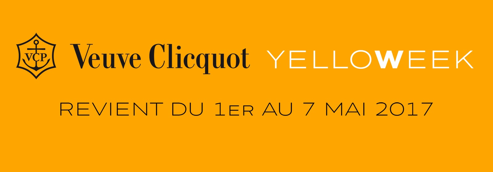 VeuveClicquot YelloWeek