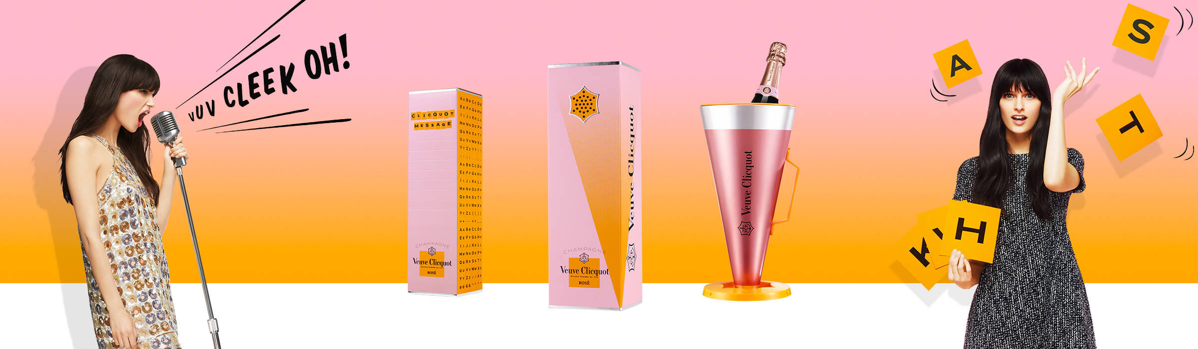 Say it with clicquot