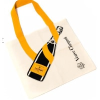 "A specially made Veuve Clicquot tote bag will be given to the first 200 customers who purchase a Veuve Cliquot Rosé Label Paint Tube 750ml at ""THE STAGE"" during the event."