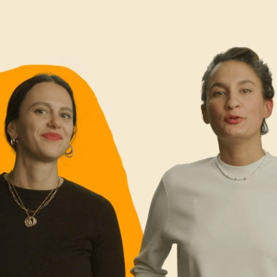 Cécile Khayat & Victoria Effantin