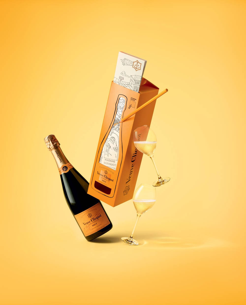 CLICQUOT COLORING PACK