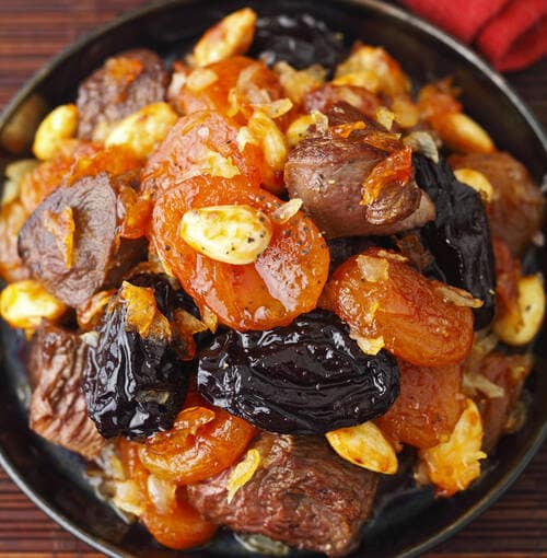 Veuve Clicquot - Lamb tajine with figues and oriental spices