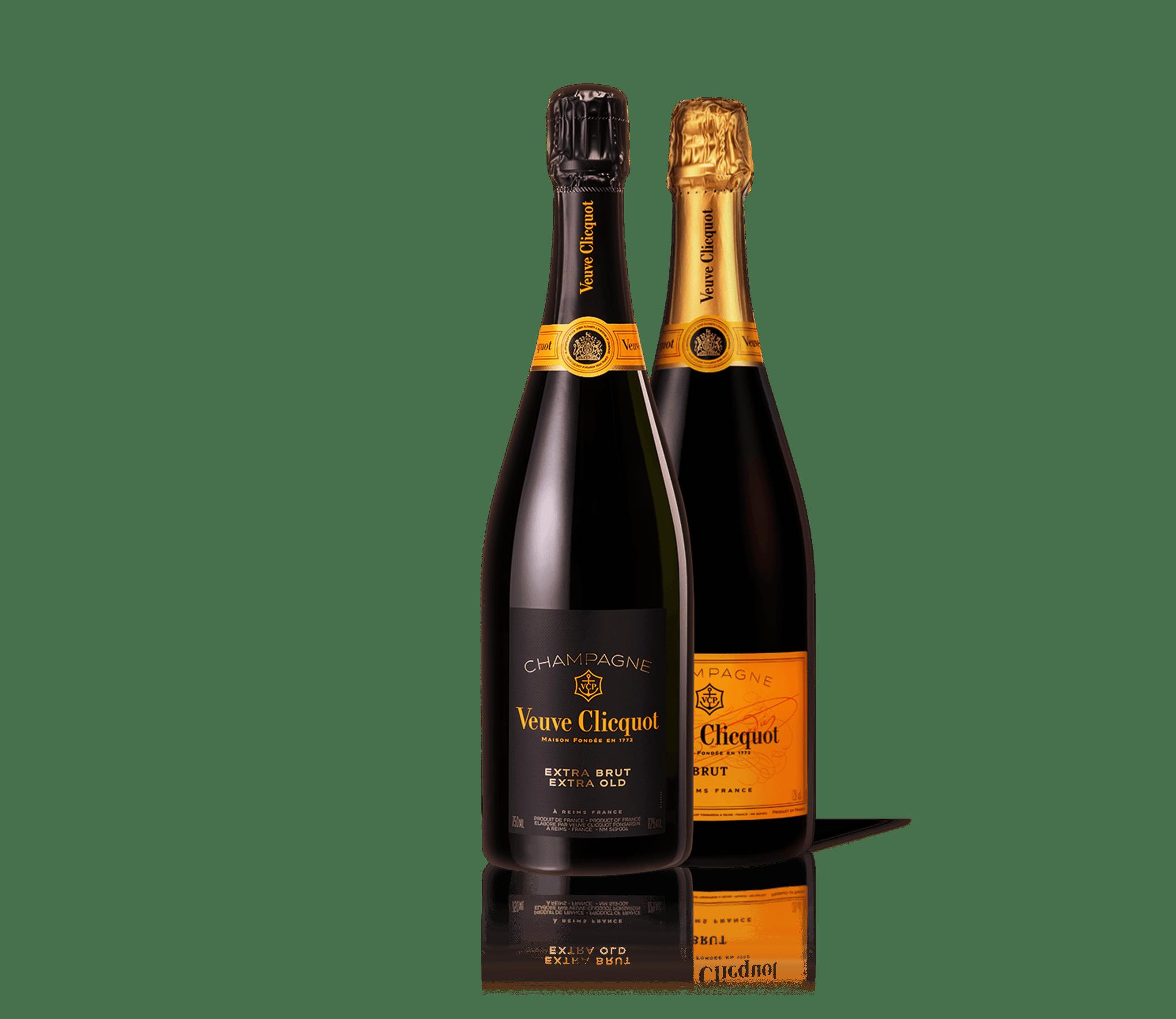 Garrafa do Champagne Veuve Clicquot Extra Brut Extra Old 1