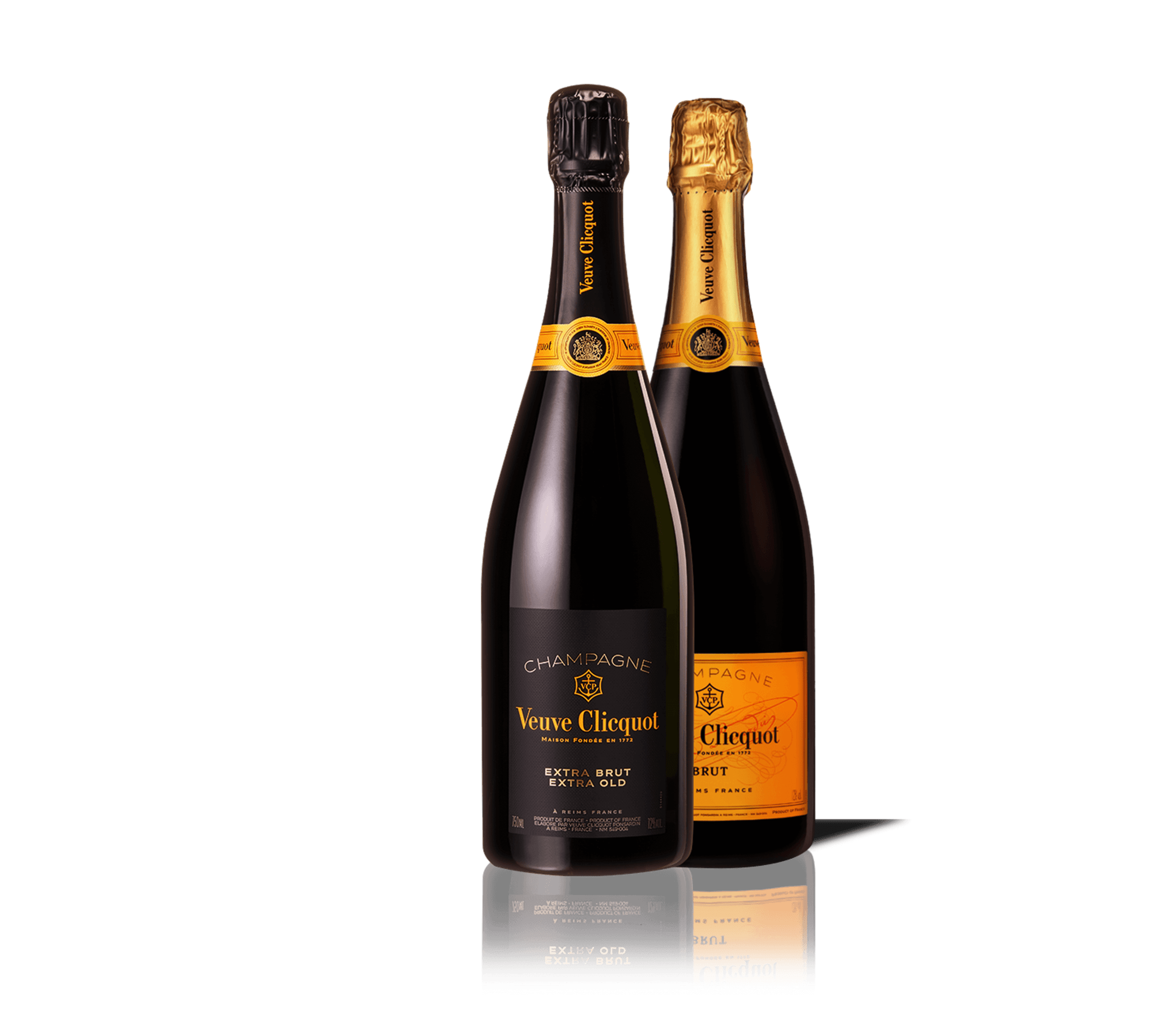 Botella de champagne Veuve Clicquot Extra Brut Extra Old 1