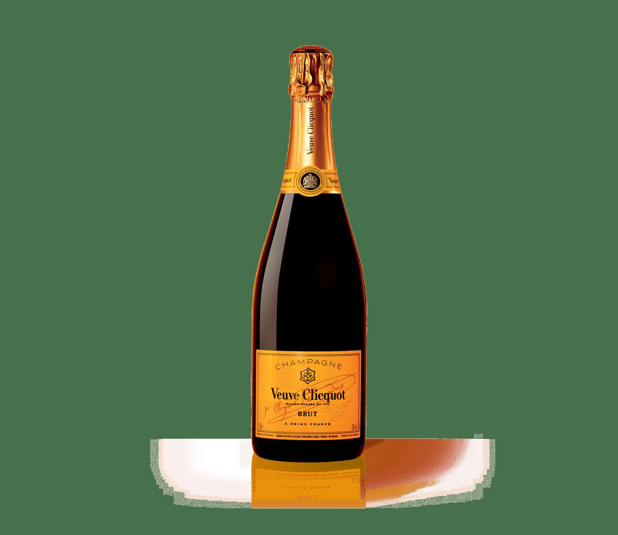 Bottle Veuve Clicquot Champagne Brut