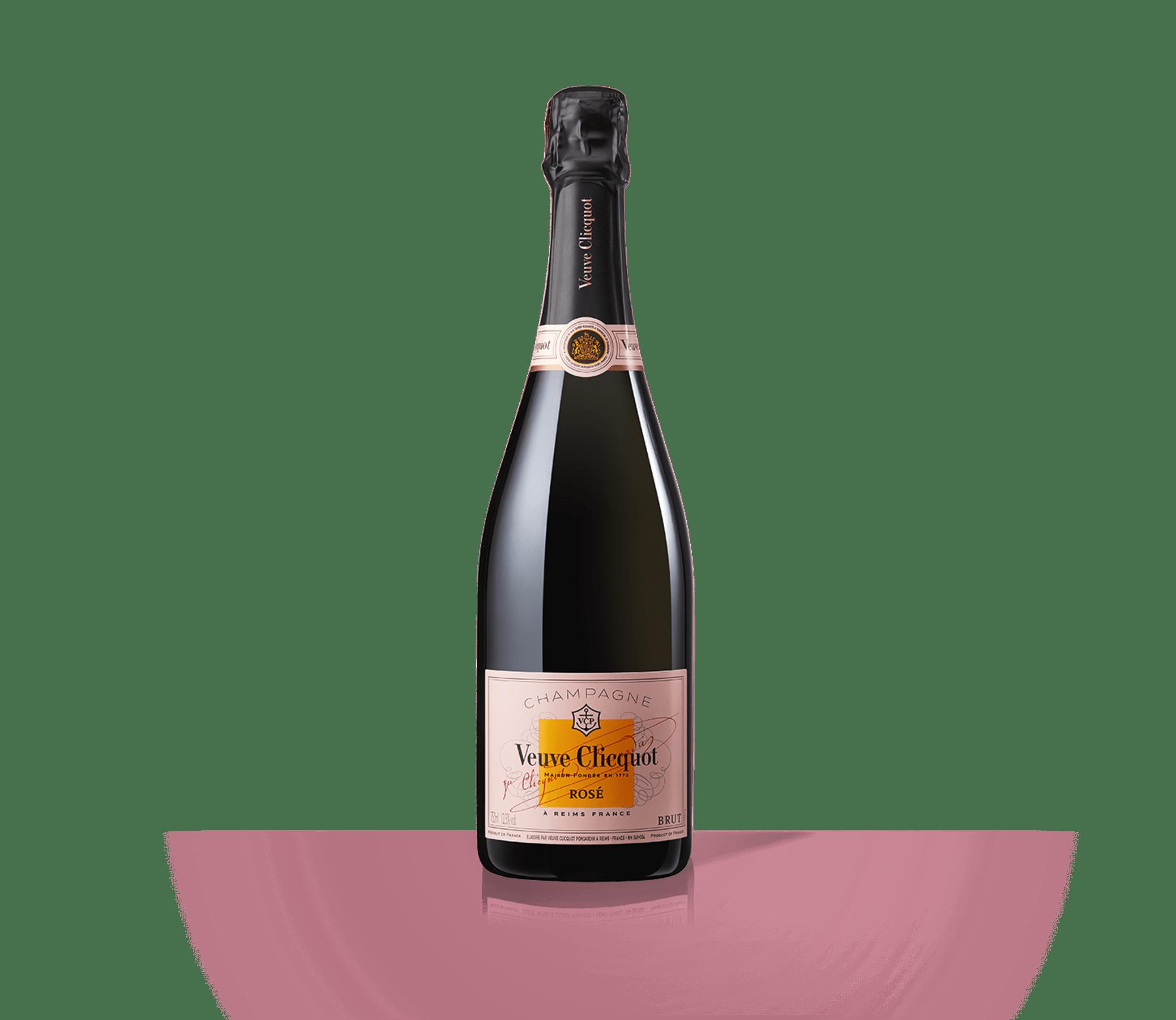 Bottle Veuve Clicquot Champagne Rosé
