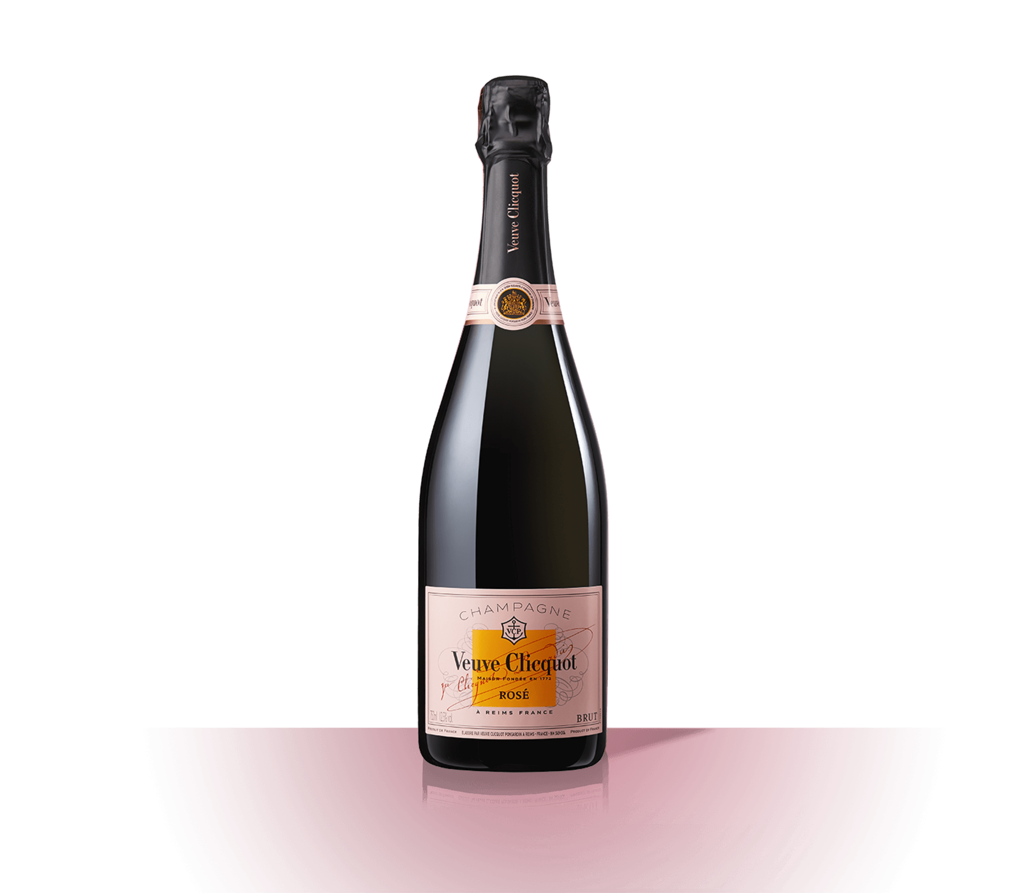 Bottle Veuve Clicquot Champagne Rosé