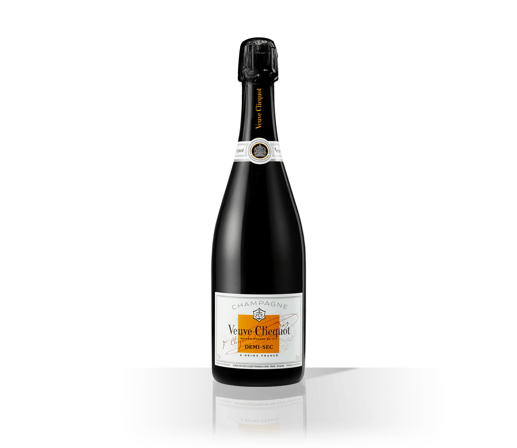 Bottle Veuve Clicquot Champagne Demi-Sec