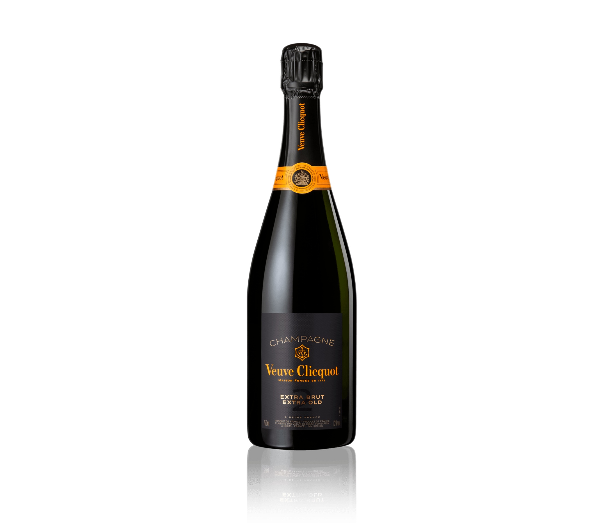Flasche Veuve Clicquot Champagner Extra Brut Extra Old 2