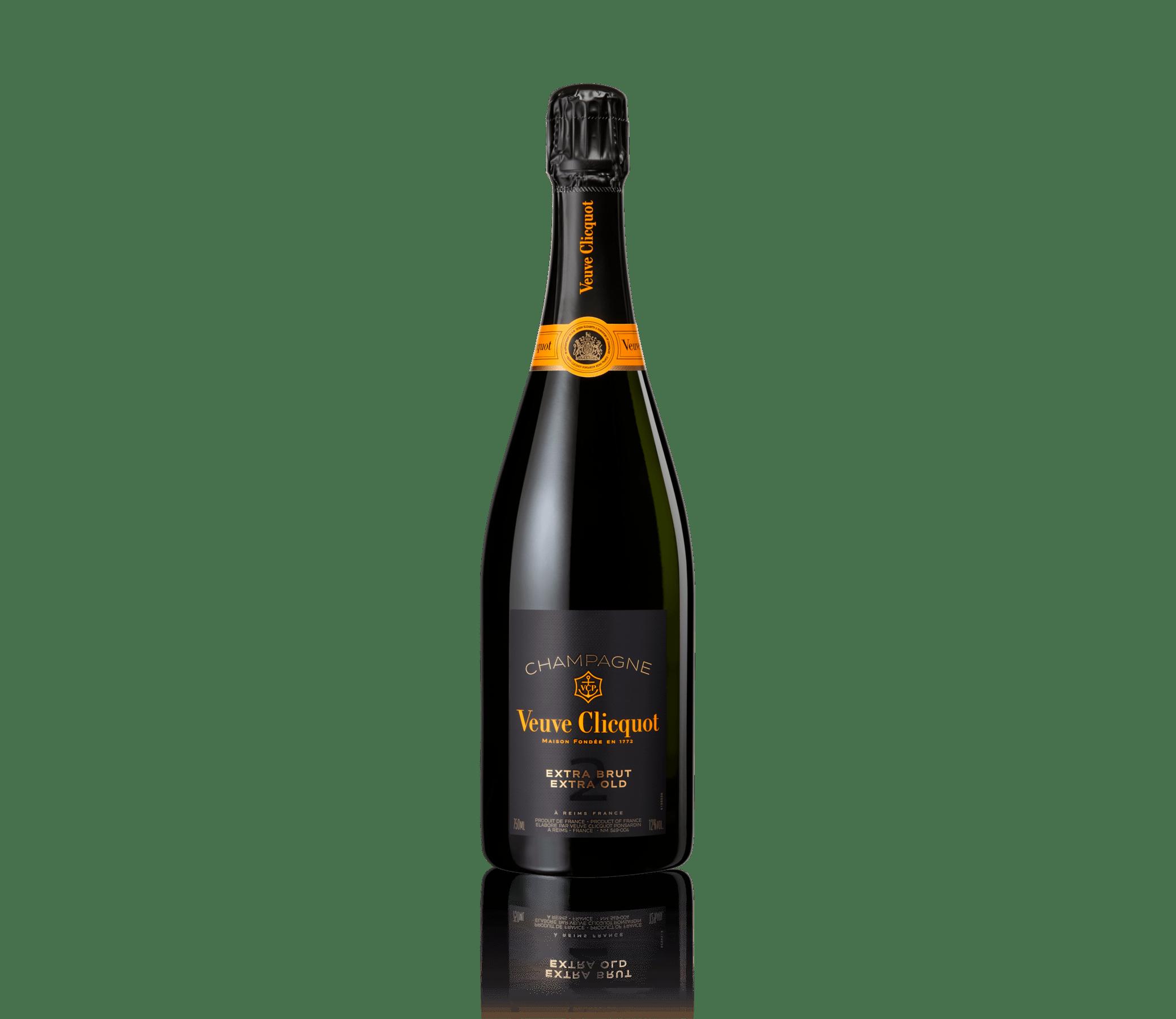 Бутылка шампанского Veuve Clicquot Extra Brut Extra Old 2