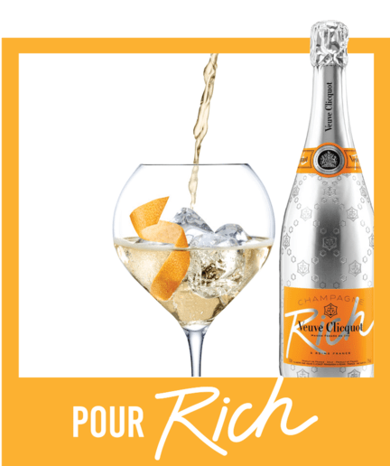 Recipe Visual 3 Veuve Clicquot Champagne Rich