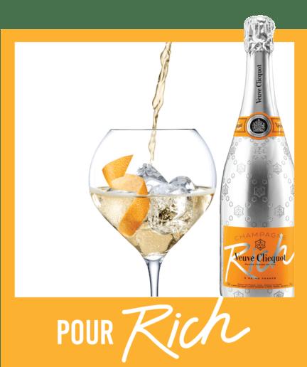 Recipe Visual 3 Veuve Clicquot Champagne Rich