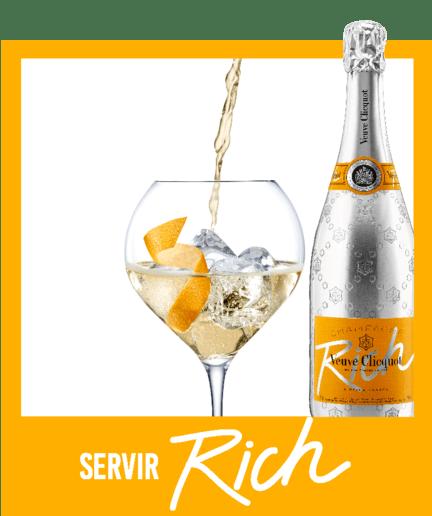 Imagem de Receita 3 com Champagne Veuve Clicquot Rich