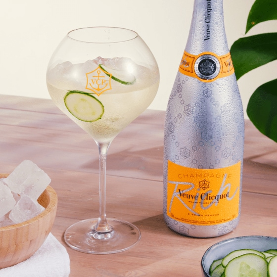 Darstellung 1 Veuve-Clicquot-Champagner Rich